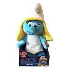 The Smurfs Pitufos 55227-eu-ply Smurfette Hablar Peluche Peluche