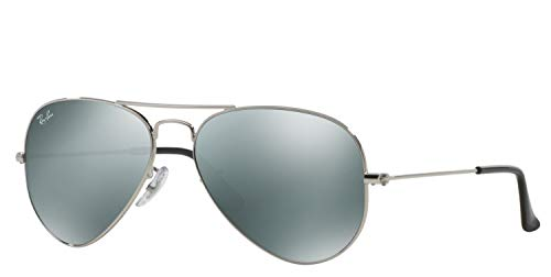 Ray-Ban RB3025 W3275 Small AVIATOR 55mm Verspiegelt, Silber