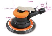 1937 BETA 150MM ROTO-ORBITAL AIR PALM SANDER LUBRICATION FREE MADE FROM COMPOSITE MATERIAL 1200RPM 1/4GAS