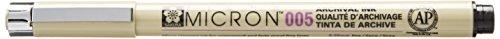 Pigma Micron Crayon fin, noir, 0,2mm (N° 005)