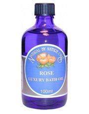 Natural By Nature Oils | Rose Bath Oil 100ml | 1 x 100ml (DE) -