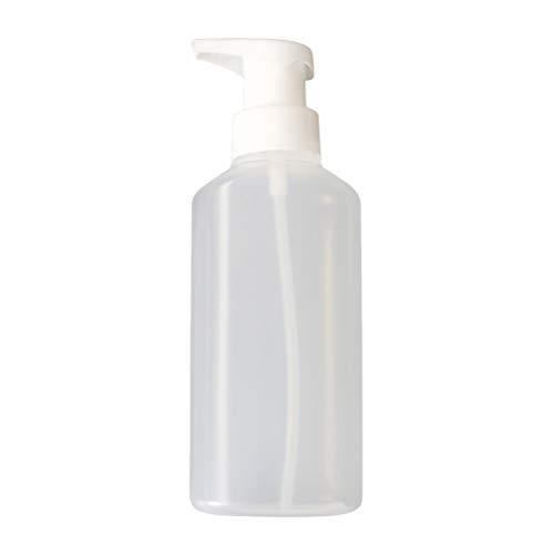 Lurrose Foam Spender Flasche Pumpe wiederverwendbar leere Mehrwegflasche 180ml (weiß) - 180 Ml Dusche
