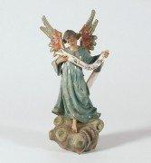 MaMeMi Engel * Weihnachtskrippe/Krippen/Krippenfigur * bunt bemalt * Grösse:18 cm (Engel Krippe Kostüm)