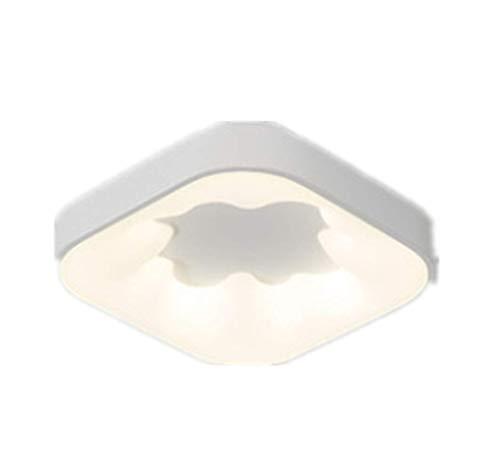 Deckenleuchte led unpolar gedimmt (Senden Fernbedienung) Schlafzimmer Lampe moderne minimalistische Raum Beleuchtung Quadrat 58cm x 58cm x 9cm weiß