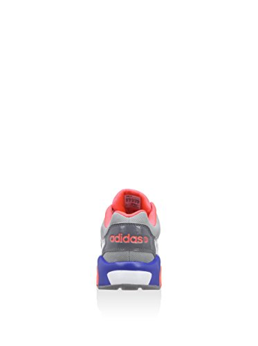 adidas Damen Freizeit Sneaker NEO RUN 9TIES grau grau/koralle/blau