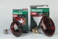 PHILIPS Infrared R-95 100W Rojo