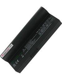 Batterie pour ASUS EEE PC 1000HD-BLK040X, Haute capacité, 7.4V, 6600mAh, Li-ion