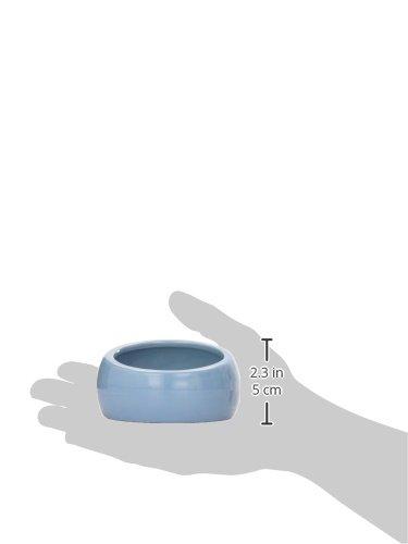 Hagen Ergonomischer Nagernapf klein blau -