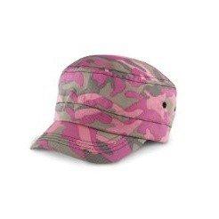 Result - Casquette armée souple à motif camouflage - Adulte unisexe (Taille unique) (Camouflage rose)