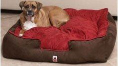 "Luxury Dog Bed XXL 42"" Mocha-For the largest of breeds from Tested on Animals"