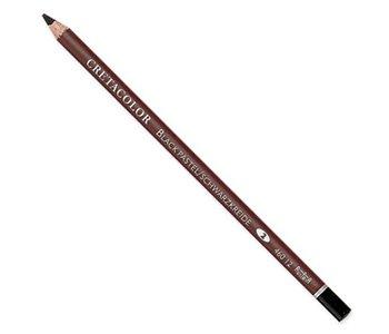 Schwarz Pastell Bleistift Medium