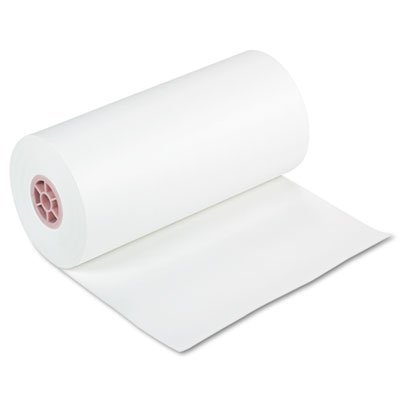 lbs., 18 x 1000 ft, White, Sold as 1 Roll by Pacon (Kraft Paper Roll)