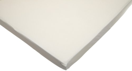 American Baby Company Organic Cotton Interlock Portable Fitted Crib Sheet
