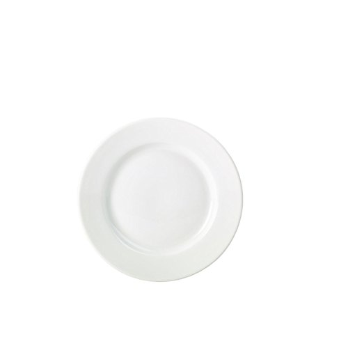 21lmhOLihkL. SS500  - Genware NEV-160623 Royal Classic Winged Plate, 23 cm, White (Pack of 6)