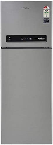 Whirlpool 265 L 3 Star Inverter Frost-Free Double Door Refrigerator (INTELLIFRESH INV CNV 278 3S, German Steel)