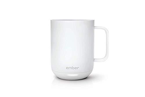 Ember Taza de cerámica con control de temperatura Blanco