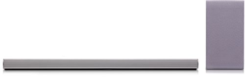 LG DSH5 - Barra de sonido (320W, HDMI, Bluetooth, DTS , Dolby digital), color gris