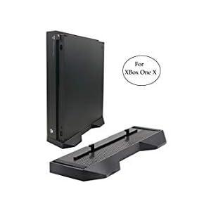 lrego Rutschfest Vertikaler Ständer Nur für Xbox One X Konsole (Schwarz)