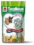 Mignini 4 Stagioni tuttanatura Mangime Per Conigli Criceti E Roditori Omega3 Mono-Alimento 25 kg