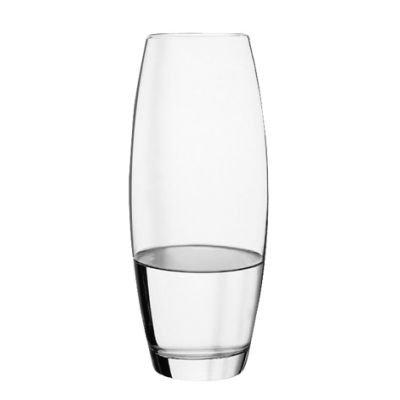 Pasabahce 43767Flora Jarrón Cristal, cilíndrico, 26.5cm