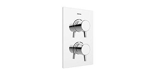 Bristan PM2 SHCDIV C Prism - Válvula de ducha termostática empotrable de...