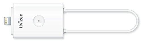 iCube Tivizen Pico2 HD Lightning, Ricevitore DVB-T per Smartphone e Tablet iOs con Dock Lightning