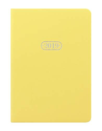 Letts Pastel A6 Kalender 2019 1 Woche auf 2 Seiten Lemon