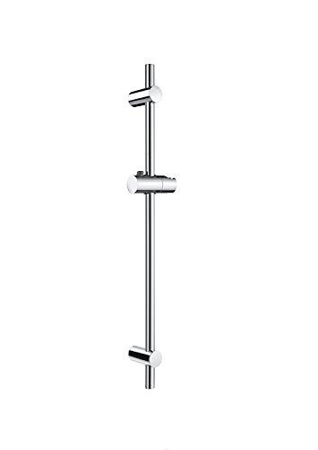 Roca - Barra de ducha de 700 mm regulable en altura, con...
