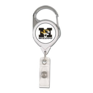 Wincraft Missouri Tigers Retractable Premium Badge Holder (Fußball-retractable Badge Holder)