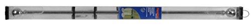 Preisvergleich Produktbild SupaDec Vorhängeschiene auf Rolle chrom Finish Gardinenstange 120cm, 28mm Durchmesser