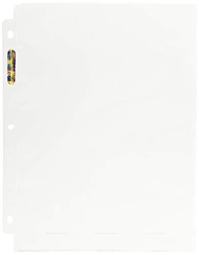 Ultra Pro 1-Pocket Platinum Seite mit 20,3x 25,4cm Pocket 100Ct.