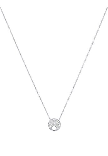 JETTE-Silver-Damen-Kette-fr-Charms-925er-Silber-45-Zirkonia-silber-One-Size