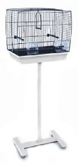 Universal Bird Cage Stand White from Unbranded