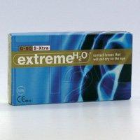 Extreme H2O 59% Xtra (Monatslinse für trockene Augen) (Dioptrien: 4.50 / Radius: 8.55 / Durchmesser: 14.20)