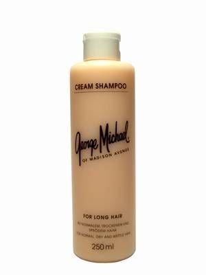 Trockene Spröde Haare (George Michael Cream Shampoo 250 ml Shampoo für normales bis trocken/sprödes Haar)