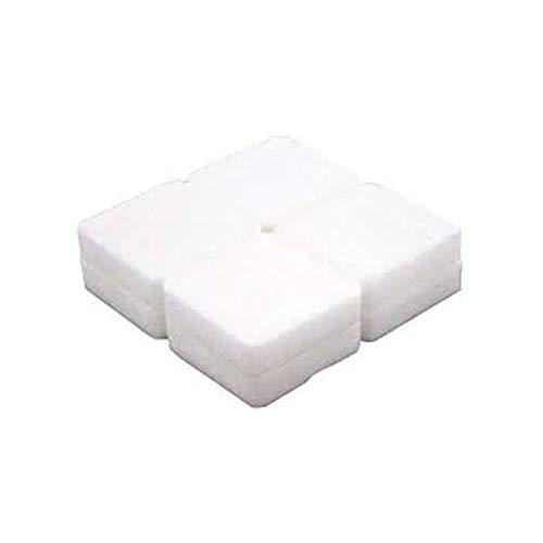 Fester Brennstoff Tablets, 8 Stück, weiß