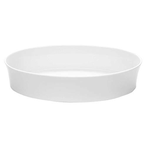 Kahla - Porcelaine pour les Sens 327672A90032C Update Plat à Soufflé Ovale Blanc 32 x 6,5 cm