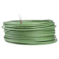 EIBMARKT® EIB/KNX Busleitung (KNX Buskabel) Ring 100m grün mit 4kV Prüfung, EIB-Y(St)Y 2x2x0,8 - Twisted-pair-Übertragung
