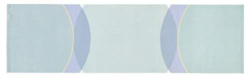 Tischdecke Tischband Mitteldecke Tischband Tischtuch - Größe 40 x 140 cm - Farben: bunt/Mint/lachs/blau/pink ()