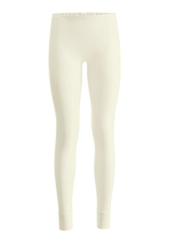 hessnatur Damen-Wäsche Lange Pants PureNATURE aus Reiner Bio-Baumwolle Natur 38