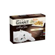 PET-755494 Gourmet La Carte Chef & rsquo; s Rezepte (Chicken / Trout / Rindfleisch / Pollock) (85 g)