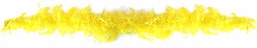 Rire et Confetti Reír y confeti - Disfraces de accesorios - - Fiefla041 Boa - 22 G - Amarillo