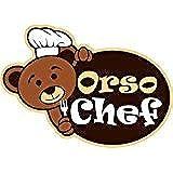orsochef Boîte à biscuits manuel crée 4gaufres gaufrier ferratelle neole Pizzelle à thème 4saisons