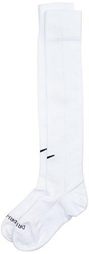 Nike Classic II Sock Calzettoni da Calcio, Bianco/White-Black, M