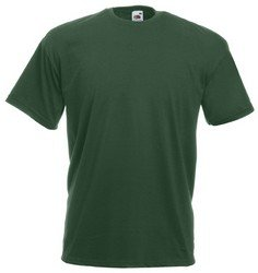 Fruit Of The Loom Herren Kurzarm T-Shirt Medium,Grün - Bottle Green