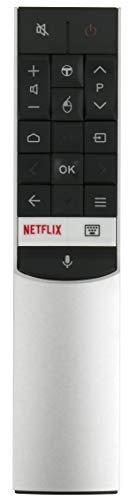 ALLIMITY RC602S JUR1 Télécommande remplacée pour TCL Android 4K UHD TV U49C7006 U55C7006 U65C7006 U75C7006 U55X9006 U65X9006 U43P6046 U49P6046 U55P6046 U60P6046 U65P6046 U65S9906 50DP660