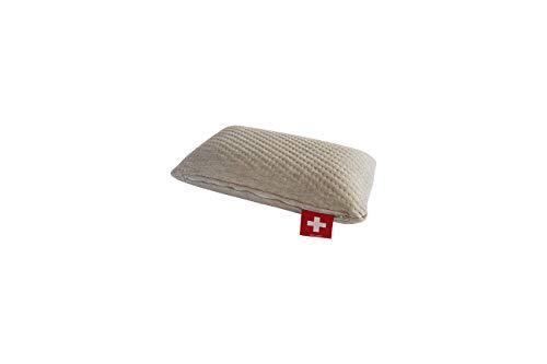 Seven Sundays Ergonomisches Reisekissen aus Bio-Viskose-Schaum (Memory Schaum) - Swiss Made -