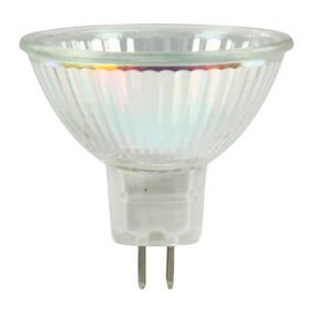 Ex-Pro® 8x Pack - NEW EEC standard lamp - GU5.3 MR16 Spot Light bulb (40w Equivalent 50w) 2800K Warm White Light
