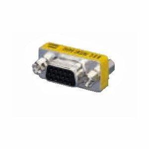Db15-mini Gender Changer (equip VGA Mini Gender Changer DB15(F) <-> DB15(F))