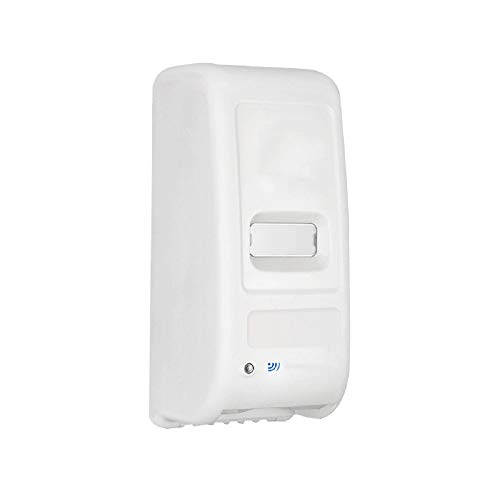 WFL Automatischer Sensor-Seifenspender, Handseifen-Hotel-Duschgelbox, gelochte Wandschaumpressflasche aus Schaumstoff,Weiß,1000 ml
